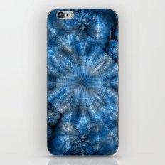 Fractal Imagination I - Sapphire iPhone & iPod Skin
