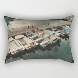 Dinghy Dock Rectangular Pillow