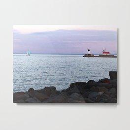 Superior Lighthouse Metal Print