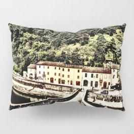 Ponte della Maddalena-Tuscany, Italy Pillow Sham