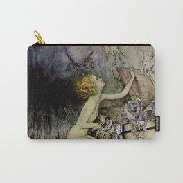 """Pandora Opens the Box"" by Arthur Rackham Carry-All Pouch"