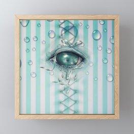 Pool Of Tears ~ Blue Eye ~Alice in Wonderland Framed Mini Art Print