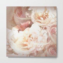 Vie en rose Metal Print