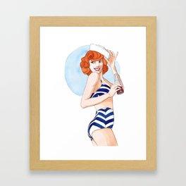 Summer is here Framed Art Print