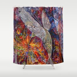 Synergistic Soul Mates Shower Curtain