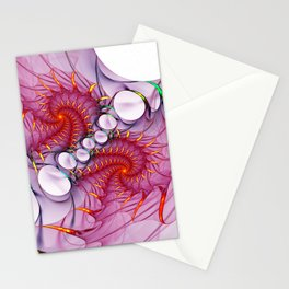 design on white -102- Stationery Cards