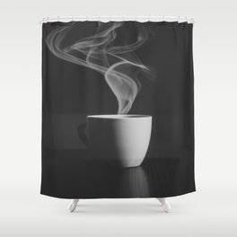 Just Cofee Shower Curtain