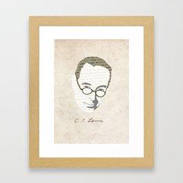 C.S. Lewis Framed Art Print