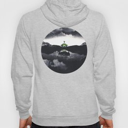 The Landing A Zebes Surrealism Hoody
