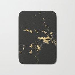 Black Marble #5 #decor #art #society6 Bath Mat