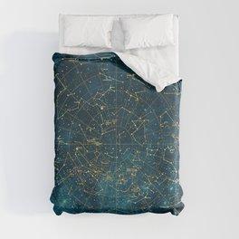 Under Constellations Duvet Cover