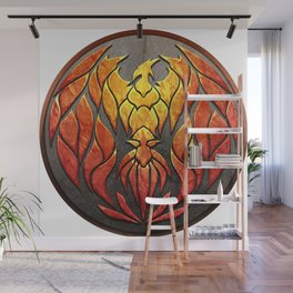 Phoenix Reborn Wall Mural