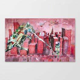 AdZilla Canvas Print