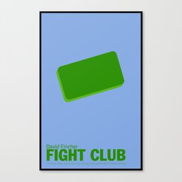 Fight Club | Minimalist Movie Posters Canvas Print