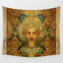 """Art Deco II The Chimera (Moth)"" Wall Tapestry"