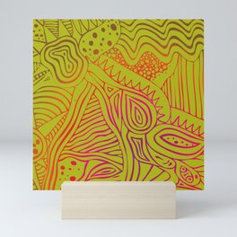 green dream Mini Art Print