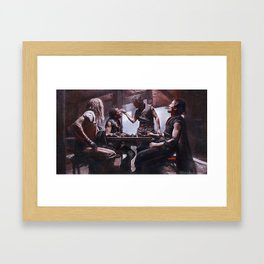 Devil's Night At The Bar - The Crow Framed Art Print