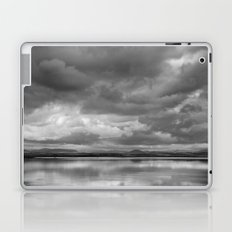 Storm at the lake Laptop & iPad Skin
