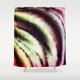 Graphically Shower Curtain