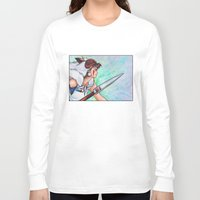 mononoke Long Sleeve T-shirts featuring Mononoke by Kimberly Castello