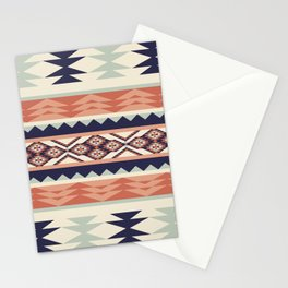 Native American Geometric Pattern Stationery Cards