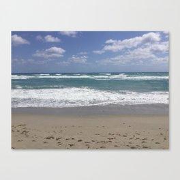 Jupiter's Beautiful Beach Canvas Print