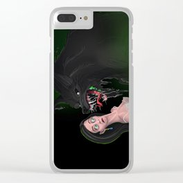 Howl-itosis: need a mint? Clear iPhone Case