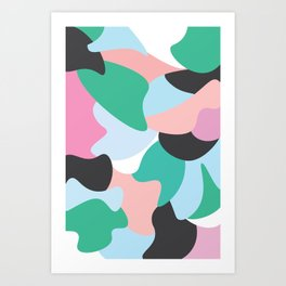 Colourfully Minimal Art Print