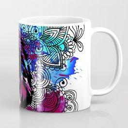 Purple Lion Spirit Coffee Mug
