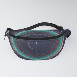 An Asteroid Map of the Solar System Fanny Pack