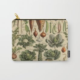 Vegetable Chart Carry-All Pouch