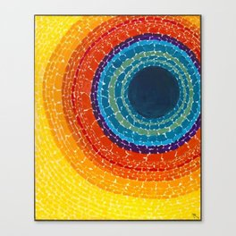 African American Masterpiece The Eclipse by Alma Thomas Canvas Print
