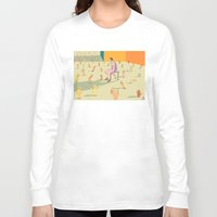 hands Long Sleeve T-shirts featuring Hands by Nahal