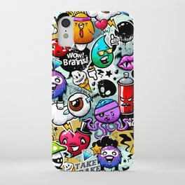 graffiti fun iPhone Case