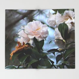 Flower No 3 Throw Blanket