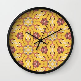 bright n sunny Wall Clock