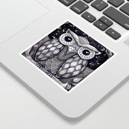 Owl II Sticker