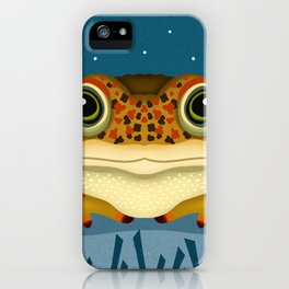 Natterjack Toad iPhone Case