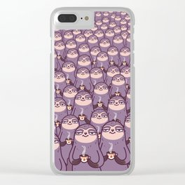 Sloths -tastic! Clear iPhone Case