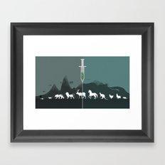 Animal Testing Framed Art Print