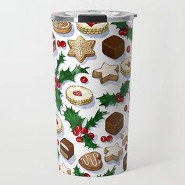 Christmas Treats and Cookies Travel Mug