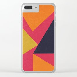 Deconstructing Geometry I Clear iPhone Case