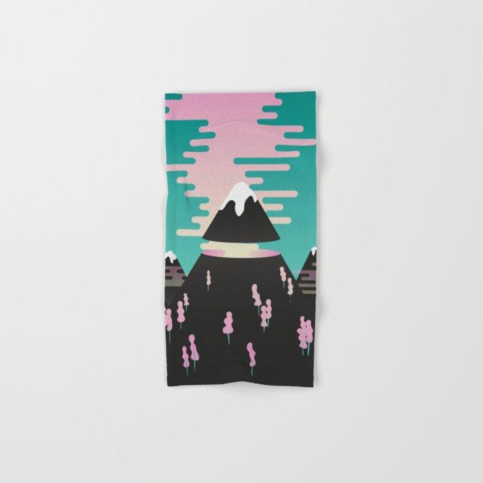 Enchanted mountains Hand & Bath Towel