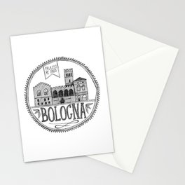 Palazzo Re Enzi, Bologna Stationery Cards