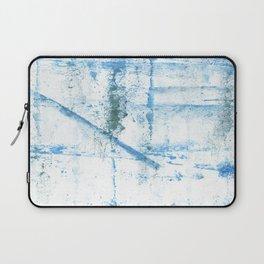Sky blue abstract Laptop Sleeve