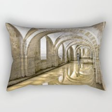 Winchester Cathedral Crypt Rectangular Pillow
