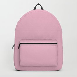 Cameo Pink - solid color Backpack