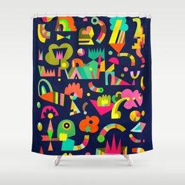 Schema 5 Shower Curtain