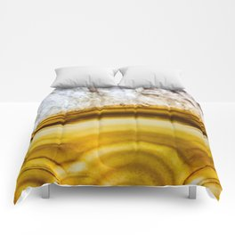 Amber Honey Agate Earth Comforters