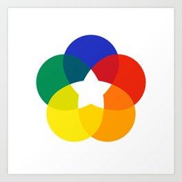Corporate Bloom Art Print